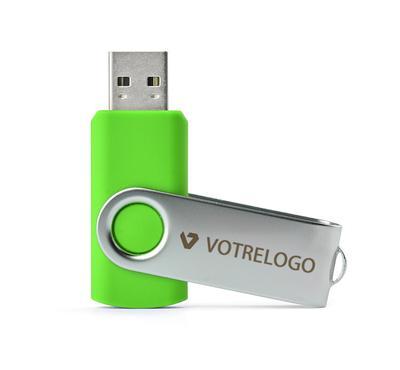 Clé USB TWISTER 16 GB vert clair