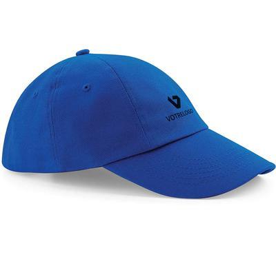 Casquette personnalisable bleue