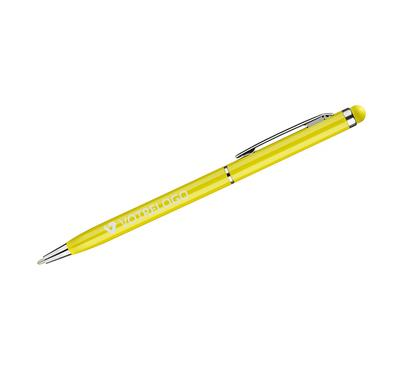 Stylo à bille touch TIN 2  jaune