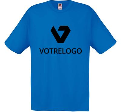 T-shirt homme SC6 bleu - XL