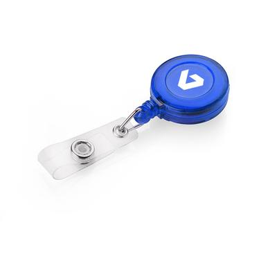 Porte-clés personnalisé avec fil enrouleur