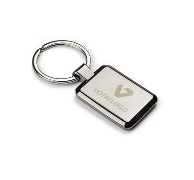 Porte-clés  2 en 1 CART argent