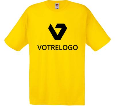 T-shirt homme SC6 jaune - XL