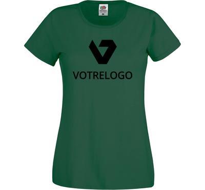 T-shirt femme SC61420 vert - L