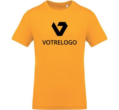 T-shirt homme K369 jaune - 3XL