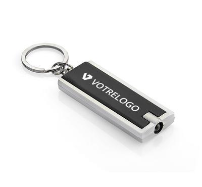 Porte-clés LED LUMO noir