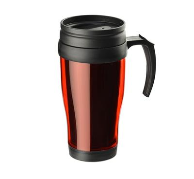 Mug isotherme CLASSIC COLOR 400 ml rouge