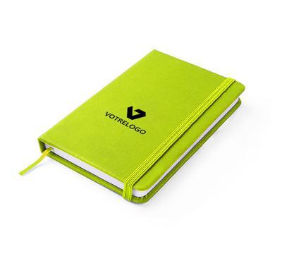 Carnet VITAL A6 vert clair
