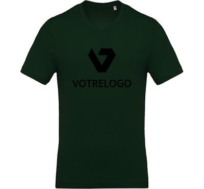 T-shirt homme K370 vert foncé  - XXL