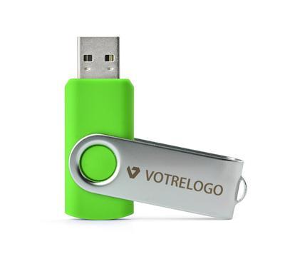 Clé USB TWISTER 8 GB vert clair