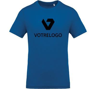 T-shirt homme K369 bleu - M