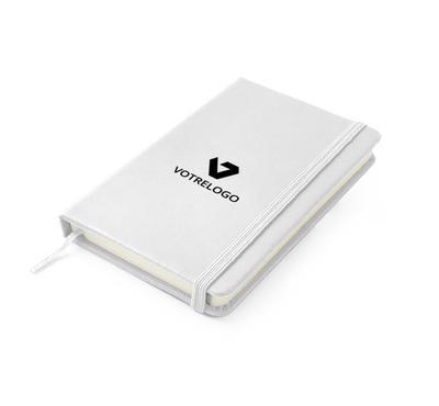 Carnet personnalisable A6 blanc