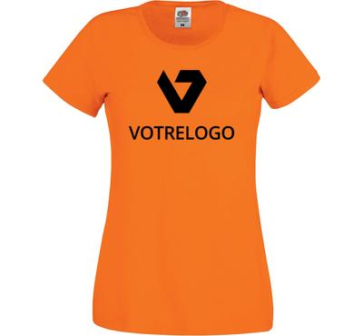 T-shirt femme SC61420 orange - XL
