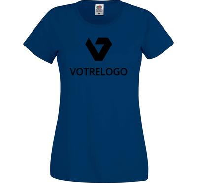 T-shirt femme SC61420 bleu marine - XS