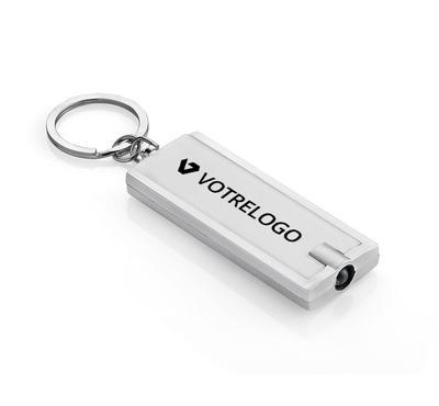 Porte-clés LED LUMO argent