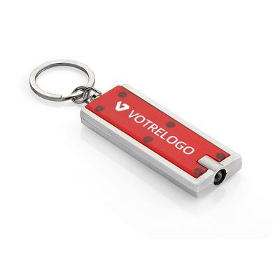 Porte-clés LED LUMO rouge