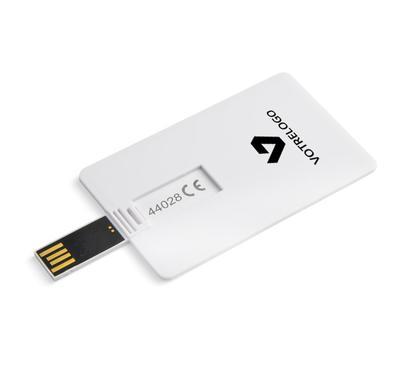 Clé USB KARTA 32 GB blanc