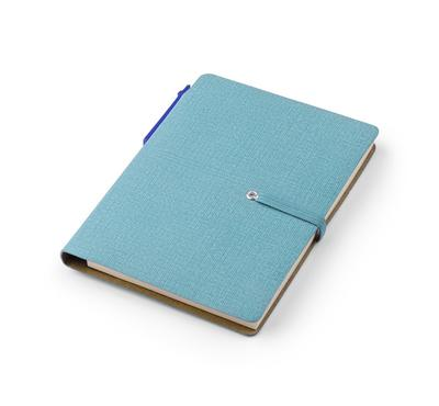 Carnet TICAL A6 turquoise