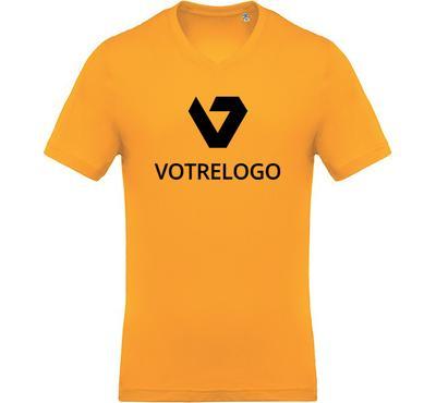 T-shirt homme K370 jaune - XL