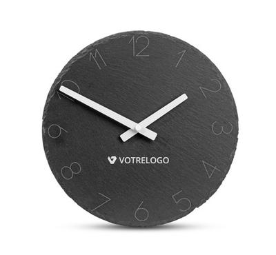 Horloge personnalisée pierre