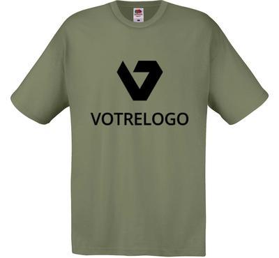 T-shirt homme SC6 vert olive - 3XL