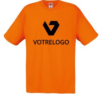 T-shirt homme SC6 orange - XL